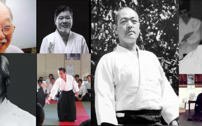 Those Aikido masters who spread Shiatsu