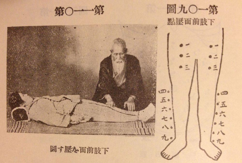 Reflexions about Tenpeki Tamai' Shiatsu